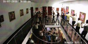 Darbeci yarbay polise teslim olan askerlere ateş etmiş