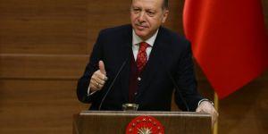 Erdoğan'dan Muhtarlara Müjde
