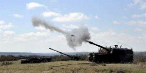 TSK Suriye'de YPG hedeflerini vuruyor