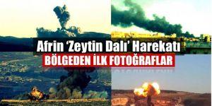 'Zeytin Dalı Harekatı'ndan tarihi kareler