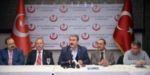BBP Genel Başkanı Destici'den Afrin harekatına destek