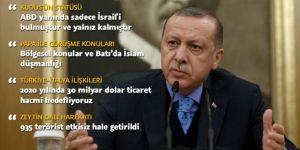 Erdoğan: Harekatta 935 terörist etkisiz hale getirildi