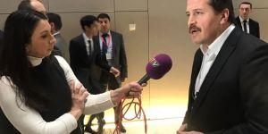 Ali Yalçın, Azerbaycan'da Konuştu: Yaşasın emek ve emek örgütlenmemiz