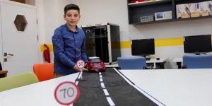 6. sınıf öğrencisinden radar cezasına son verecek proje