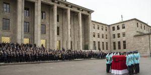 Deniz Bölükbaşı için TBMM'de tören düzenlendi