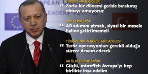 Erdoğan'dan Türkiye-Avrupa Birliği Zirvesi'nde Önemli Açıklamalar
