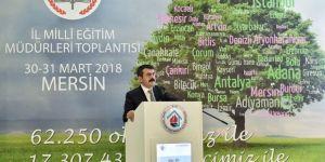 Müsteşar Tekin, Mersin'de il millî eğitim müdürleriyle bir araya geldi
