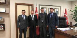 Türk Eğitim-Sen Şube Başkanı'ndan MHP Genel Sekreteri Büyükataman'a Ziyaret