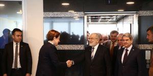 Saadet Partisi ve İYİ Parti'den görüşme sonrası açıklama