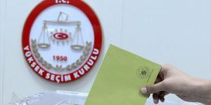 YSK Seçim takvimini açıkladı