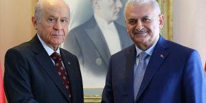 Erdoğan'ın adaylığı için Yıldırım ve Bahçeli başvuracak