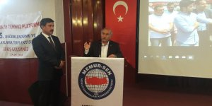 Mustafa Kır, 15 Temmuz Platformu Toplantısı'nda Konuştu