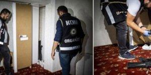 Ankara'da 64 adrese baskın... Mescitte cephanelik