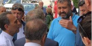 Konya'da CHP adayı Abdullatif Şener'e tepki!