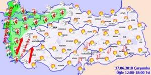Bugün hava nasıl olacak? 27 Haziran hava durumu