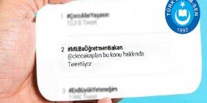 #MEBeÖğretmenBakanhashtag çalışması sosyal medyayı salladı
