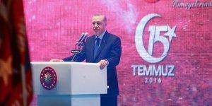 Erdoğan: Zaferin sahibi 81 milyonun tamamıdır