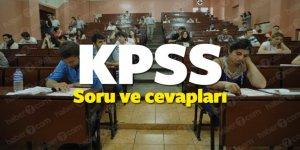 2018 KPSS lisans sınav soru ve cevapları ne zaman yayınlanacak?