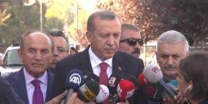 Erdoğan: 21 günlük sürenin düşmesi söz konusu değil