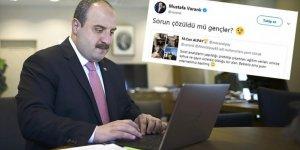 Bakan Varank öğrencilerin internet sorununu çözdü