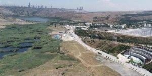 Ankara'da Eymir Gölü'ne komşu Millet Bahçesi