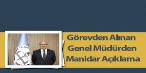 Görevden Alınan Genel Müdürden Sınav İşlemleri Açıklaması