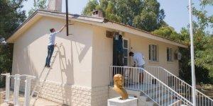 Rehabilite edilen çocuklar okul onardı
