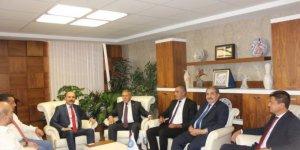 CHP'den Türk Eğitim-Sen'e Üst Düzey Ziyaret