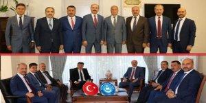 Türk Eğitim-Sen'den MEB Bakan Yardımcılarına Ziyaret