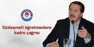 Ali Yalçın'dan Sözleşmeli öğretmenlere kadro çağrısı