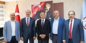 Türk Eğitim-Sen'den Genel Müdür Muammer Yıldız'a Ziyaret