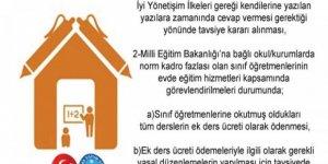 Evde Eğitim Hizmetlerine Ek Ders Talebi Kamu Denetçiliği Kurumu'na İletildi
