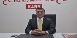 Çetin Nazik, MHP'den Kars Belediye Başkanı Aday Adaylığını Açıkladı
