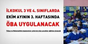 Türkçe ve Matematik'te yeterli kazanımı elde edemeyen ilkokul 3 ve 4. öğrencilerine İYEP uygulanacak