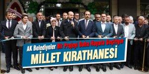 AK Belediyeler Bir Projeyi Daha Hayata Geçiriyor: Millet Kıraathanesi