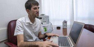 Görme engelliler bulundukları yerde üniversite sınavına hazırlanabilecek