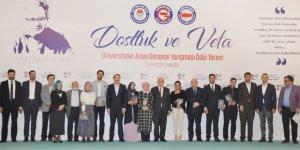 'Dostluk ve Vefa' deneme yarışması ödül töreni yapıldı
