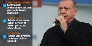 Cumhurbaşkanı Erdoğan'dan Kaşıkçı ve Af Açıklaması