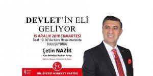 Devlet'in Eli Kars'a Geliyor: Çetin Nazik