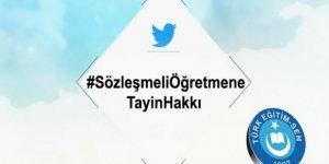 #SözleşmeliÖğretmeneTayinHakkı Türkiye Gündeminde