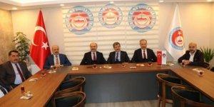 Türk Eğitim-Sen'den TÜRKAV Genel Merkezini Ziyaret