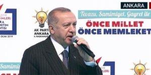 Erdoğan, Ak Parti'nin Ankara adaylarını açıkladı