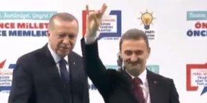 MHP'li başkan adayı Bozkurt işareti için Erdoğan'dan izin istedi