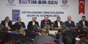Ali Yalçın: Mevcut Yöneticilerin Müktesep Hakları Korunmalı