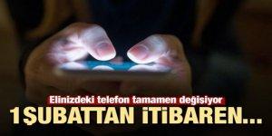 Telefonlar tamamen değişiyor! Elinizdeki telefona dikkat...