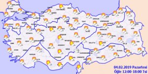 Türkiye bahar havasına girdi!Hava durumu 4 Şubat 2019