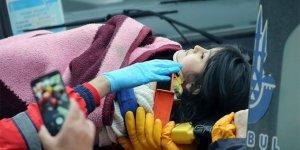 5 yaşındaki Havva, 19 saat sonra kurtarıldı