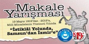 """Türk Eğitim-Sen """"İstiklal Yolunda, Samsun'dan İzmir'e"""" Makale Yarışması"""