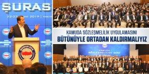 Kamuda Sözleşmelilik'de Sorun Çok Çözüm Tek: KADRO