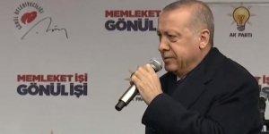 Cumhurbaşkanı Erdoğan: Buradan ilan ediyorum...